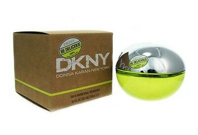 DKNY Be Delicious Donna Karan Women 3.4 OZ 100 ML *Eau De Parfum* Spray Sealed