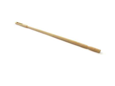 Flute Cleaning Rod Maple Wood With Eyelet *NEW* CPK 35cm long
