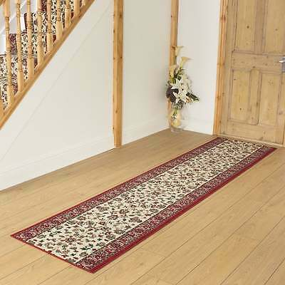 Persian Cream - Hallway Carpet Runner Rug Traditional Hall Extra Long Cheap New