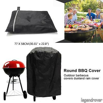 AU BBQ Grill Cover Waterproof Outdoor UV Gas Charcoal Barbecue Protector 58-77cm