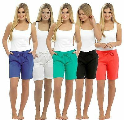 UK Seller Womens Ladies Linen Summer Casual Shorts UK Size 6 8 10 12 14 16