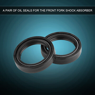 2x Motorcycle Front Fork Oil Seal 41mm x 54mm x 11mm For Suzuki GSX750F GSXR750