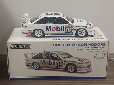 Classic Carlectables 1:18 Vp Holden Commodore 1992 Brock/reuter 18589