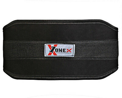 Onex Weight lifting Gym belts Neoprene GEL Back Support Straps Wraps Waist Train