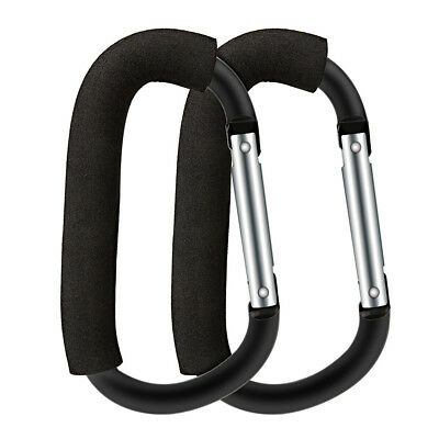 Stroller Hook Set for Pram Multi Purpose Heavy Duty D-Ring Clip for Hanging C8B5