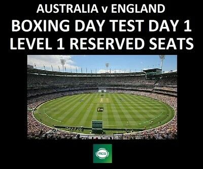 Ashes Cricket Tickets - Boxing Day Test, Melbourne - Day 1 - Australia v England