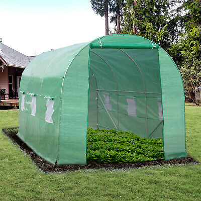 15'x7'x7' Walk-In Greenhouse Portable Gardening Plant Heavy Duty Green House