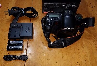 Sony SLT-A77 α (alpha)  24.3 MP Digital SLR Camera [ Body Only ]