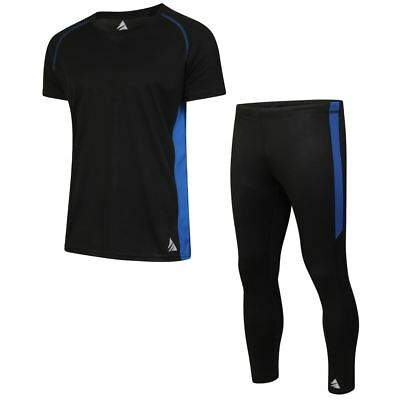 Mens Gym Pants Running Cycling Leggings Compression Base Layer Active Yoga