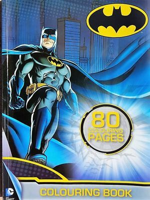 Adult Batman colouring book, 80 vibrant Pages, comic, thick paper (see Photos)