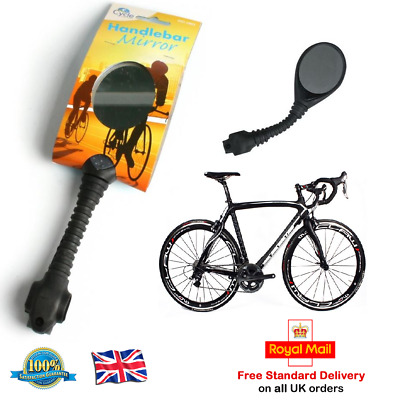 BICYCLE MIRROR Cycle Handlebar Mirror Rear View Motor Bike Cart Mountain Bike