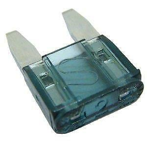 Car Electrical 10 Mini Blade Fuses 2 Amp New Fix with Long Fuse Puller