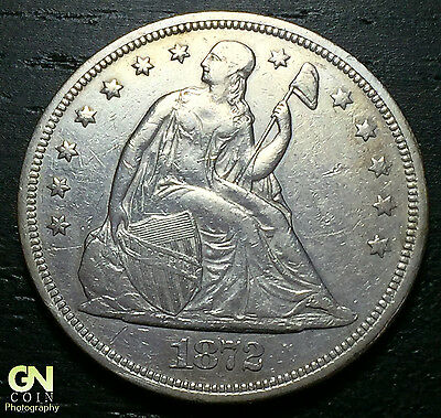 1872 P Seated Liberty Dollar --  MAKE US AN OFFER!  #O3098