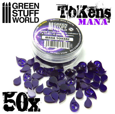 Mana Tokens -  Markers Karten und Brettspiele - Magic Vampire Mage Wars