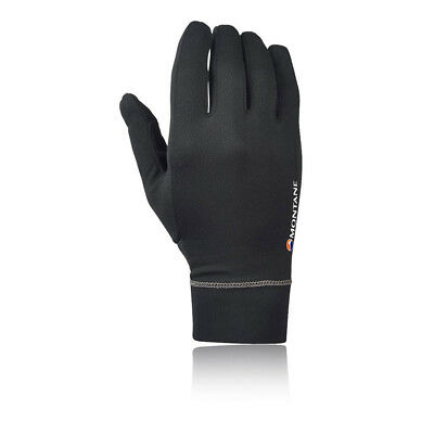 Montane Womens Sports Outdoors Powerdry Lightweight Gloves Black