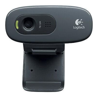 Logitech HD Webcam C270 Webcam HD with built-in microphone  compatible Skyp M4L7