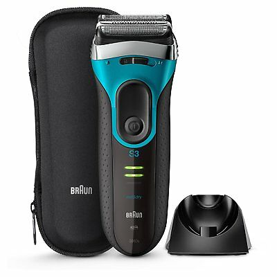 Braun Series 3 ProSkin 3080s Wet Dry Mens Electric Rechargeable Shaver Razor Man