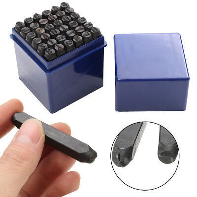 36pcs 6mm Steel Punch Alphabet Letter Number Stamp Tool Metal Leather Craft5