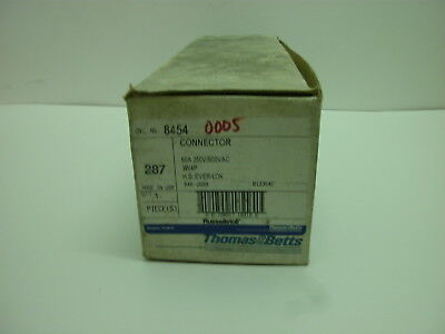 Thomas & Betts Russellstoll 8453 Connector 60A 250V/600Vac 3W 4P Hs Ever-Lok Nib