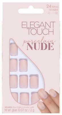 ELEGANT TOUCH Nails adhesive fake nude porcelain - manicure / pedicure