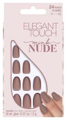 ELEGANT TOUCH Nude Nails adhesive fake mink - manicure / pedicure