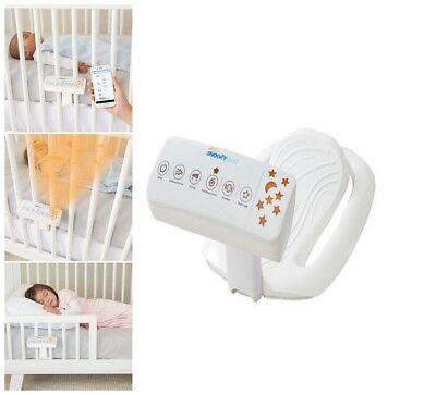 HALO- Snoozy pod Vibrating Bedtime Soother in White BABY KIDS