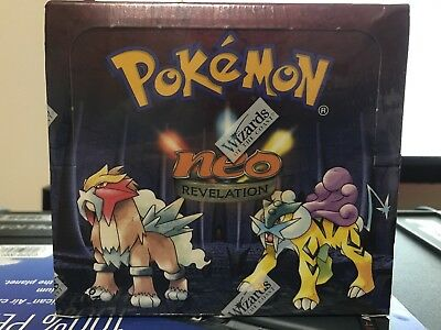 1st Edition Neo Revelation Booster Box Factory Sealed WOTC RARE