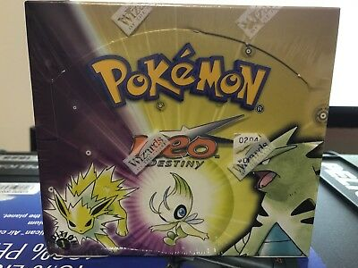 1st Edition Neo Destiny Booster Box Factory Sealed WOTC RARE