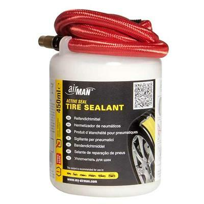 Airman Tyre Sealant Puncture Fluid 450ml Valve Through System OEM Replacement