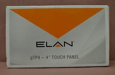 "Elan Core Brands 4"" Touch Panel White In Box GTP4-W"