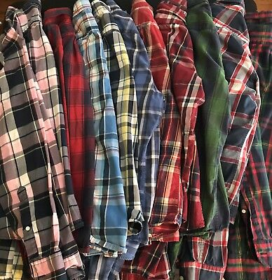 Lot Of 10 Abercrombie & Fitch Mens XL Shirts