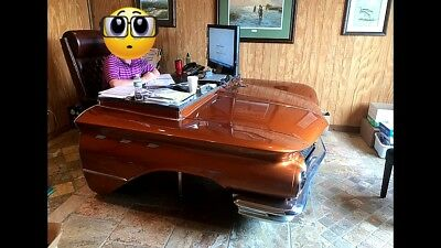 "CUSTOM ""1960 Buick Invicta"" Car Desk - One Of A Kind - ""REAL CAR"""