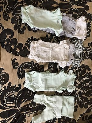 Preemie Gender Neutral Clothing Lot Mint!!
