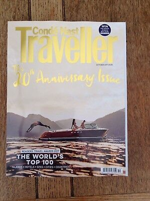 Conde Nast Traveller Magazine October 2017 The 20th Anniversary Issue The Worlds