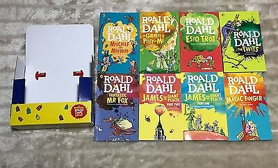 8 X Roald Dahl Complete WA Book Set In Carry Case. Brand New