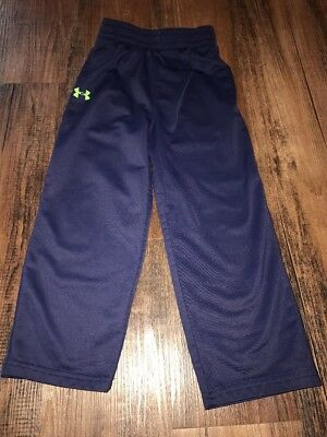 Under Armour Boys 4T Navy Blue Athletic Pants