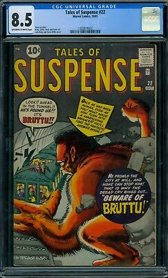 Tales of Suspense 22 CGC 8.5 - OW/W Pages - Bruttu