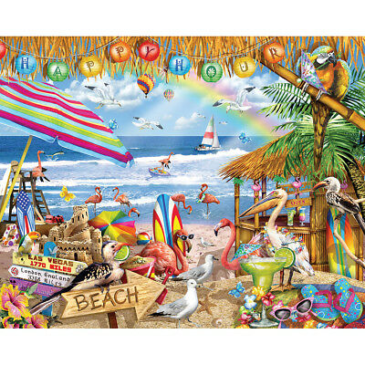 "Jigsaw Puzzle 1000 Pieces 24""X30"" Happy Hour WM937"