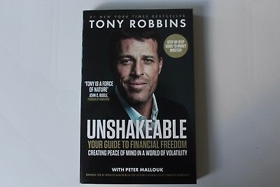 Unshakeable: Your Guide to Financial Freedom by Tony Robbins 2017 RRP £16.99