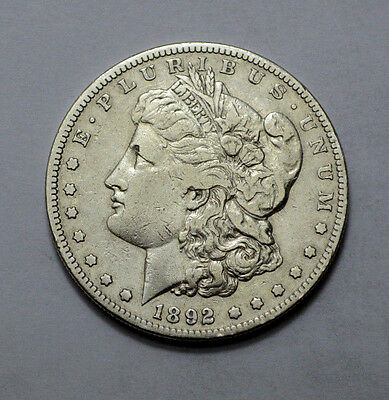 1892-S  Morgan Dollar LOW MINTAGE , RARE, KEY DATE  $1 Silver Coin !!!