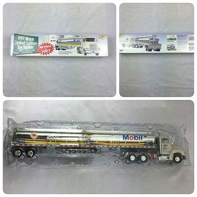 Mobil Toy Tanker Truck 1997 Limited Edition New In Box