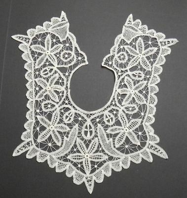 Renaissance Lace Child's Collar - Delicate Tape & Needle Fillers Lace, Charming!