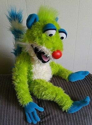 "Disney Store 23"" Large Treelo Plush Jim Henson Bear in the Big Blue House Green"