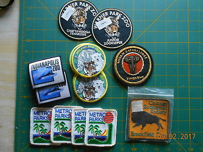 COLLECTIBLES   PATCHES  (PARKS/ZOO)(some w/staples,old)