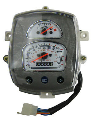 Puma Amor Motorcycle Chinese Scooters Moped Speedometer Speed Meter Assembly