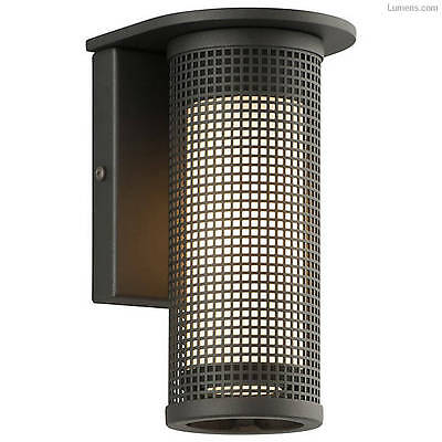 Troy Lighting BL3741 Matte Black Hive 1 Light LED Outdoor Wall Sconce