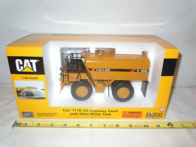 Caterpillar 777D Off Highway Truck W/ Klein Water Tank By Norscot 1/50th Scale !