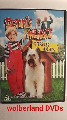 Dennis The Menace Strikes Again [ DVD ] Region 4, FREE Next Day from NSW