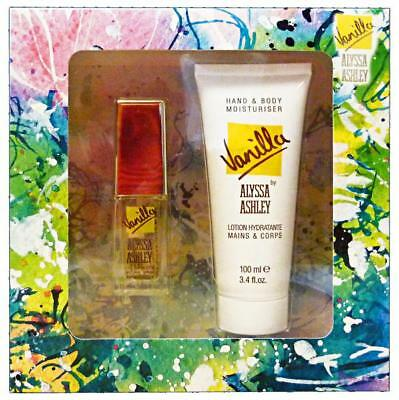 ALYSSA ASHLEY Geschenk-Paket Vanille edt 15 ml + 100 ml Lotion.