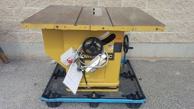 "POWERMATIC Model 72 PROFESSIONAL TABLE SAW, 7.5 HP, 3Ph, 81"" FENCE SYSTEM"